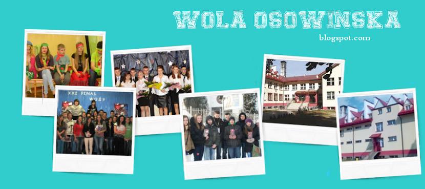 Blog Zespołu Placówek Oświatowych w Woli Osowińskiej