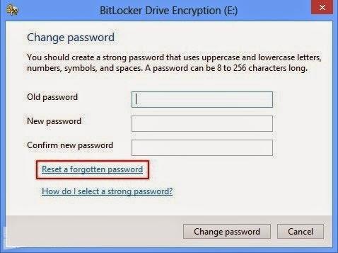 Tips Reset Password BitLocker pada Windows 8