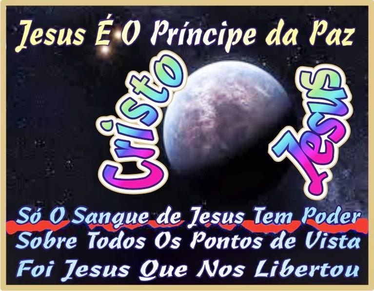 Só O Sangue de Jesus Tem Poder Sobre Todas as Coisas
