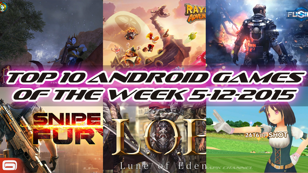 TOP 10 BEST NEW ANDROID GAMES OF THE WEEK - 5th December 2015