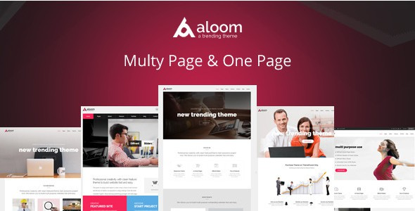 Premium Multipurpose HTML5 Template
