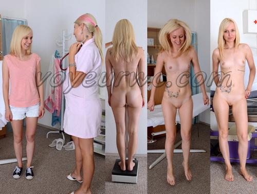 Gyno-clinic - Deborah 24 years, 165 cm, 50.5 kgs (Gynecologic Exams)