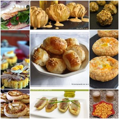Aqu y ahora 9 recetas de aperitivos y canap s for Canapes y aperitivos