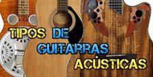 Diferentes Guitarras Acústicas