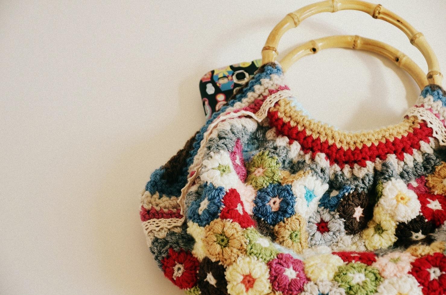 Crochet Bag Tutorial Zig Zag Puff Stitch Purse - The Ayi