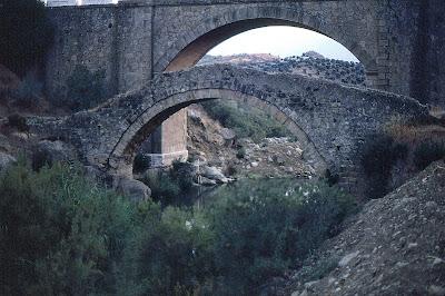 Puentes de Zahara en 1983, hoy desaparecidos