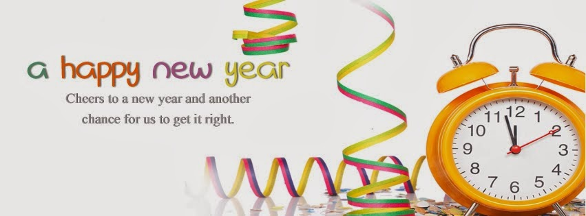 Happy New Year 2014 Cover Facebook - 1