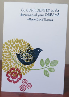 betsy's blossom with Live the Dream  Zena Kennedy independent stampin up demonstrator,