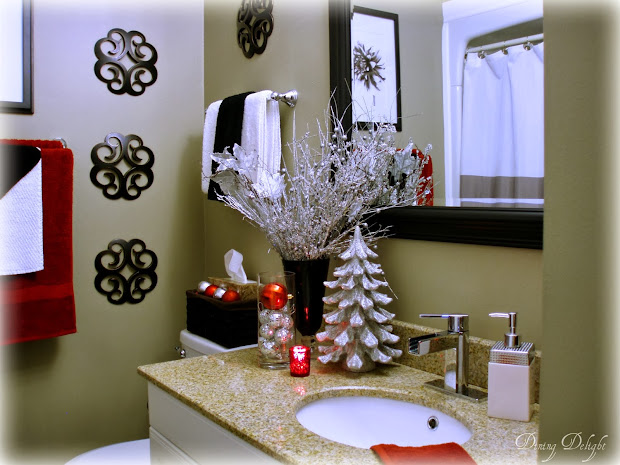 christmas bathroom decor christmas bathroom decor ideas