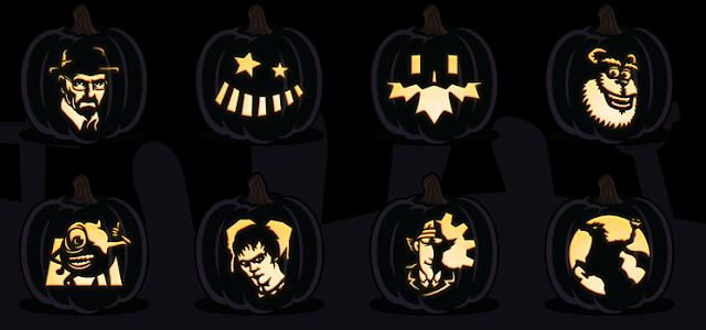 free printable pdf pumpkin carving patterns