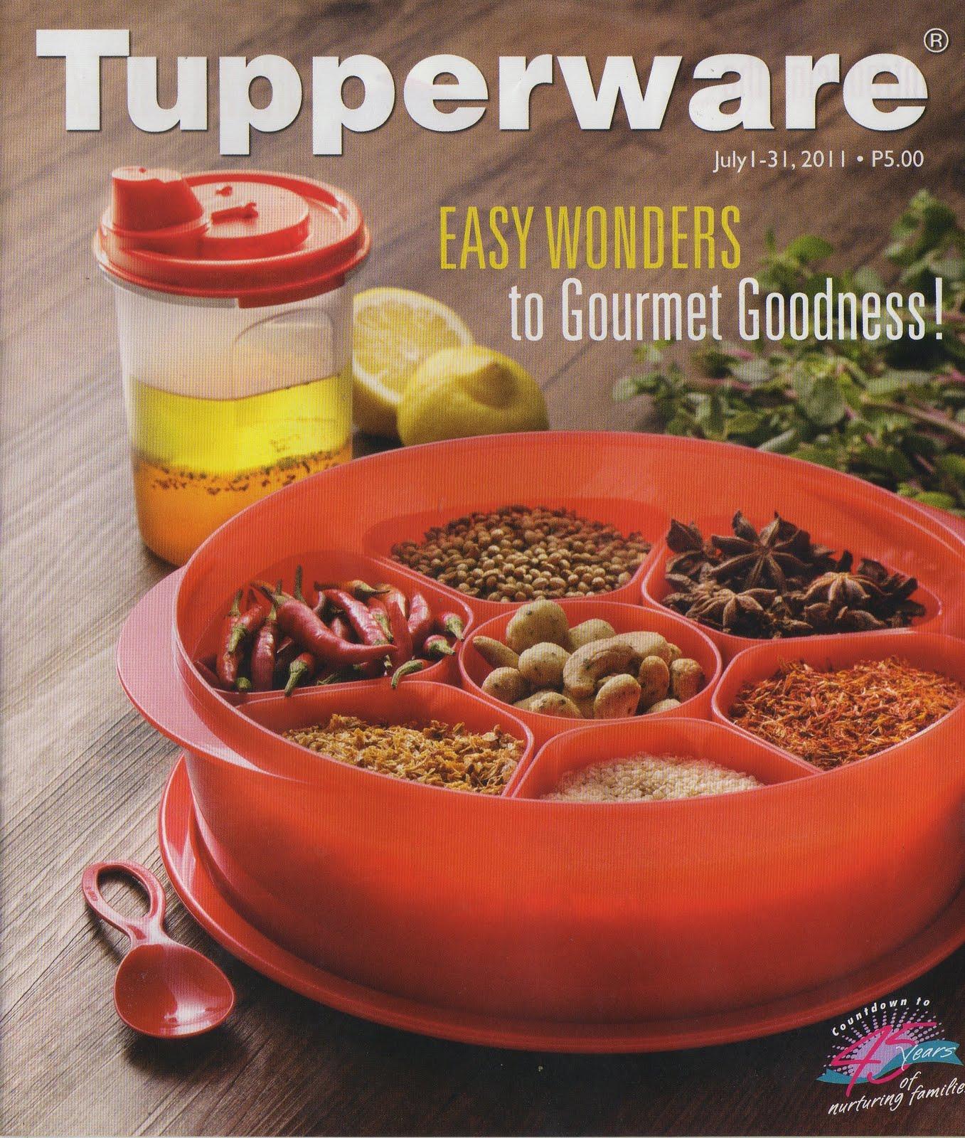 TupperWare Catalog July 2011