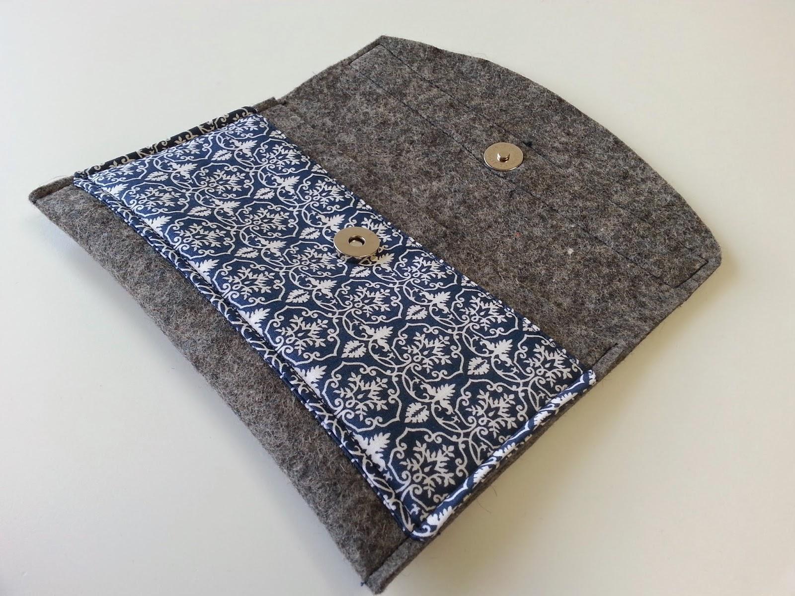 caprue tablet tasche aus filz. Black Bedroom Furniture Sets. Home Design Ideas