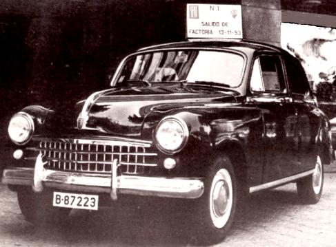 Barcelona ahora y siempre hoy hace 60 a os - Matricula coche hoy ...