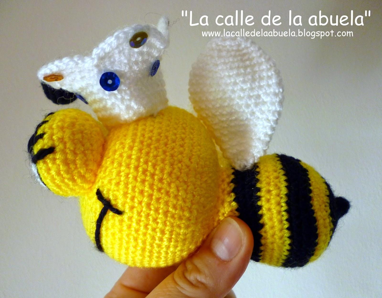 Mickey Amigurumi Bee Bee Tutorial : La calle de la abuela: