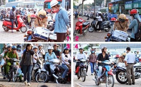 Giao thông Việt Nam: Thói quen 'đè bẹp' luật!
