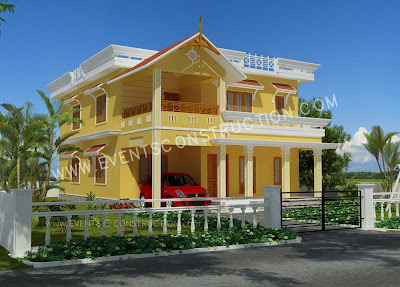 New Home Kerala House Model Kerala House Model Duplex House Elevation