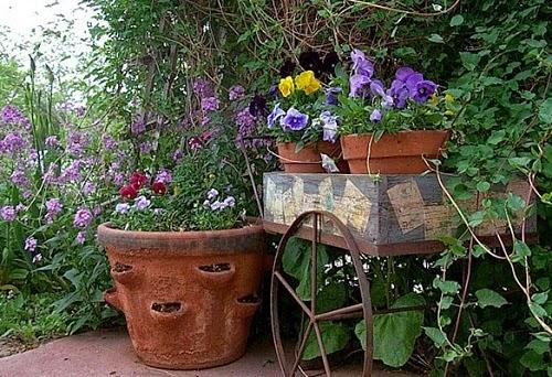 Уличные вазоны для цветов своими руками и дизайн