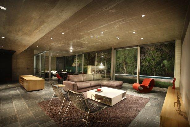 Casas minimalistas y modernas living minimalista for Casa minimalista blog
