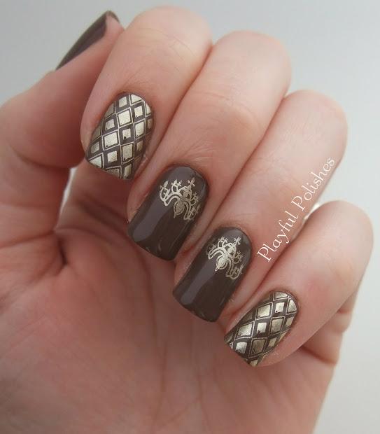 playful polishes january nail