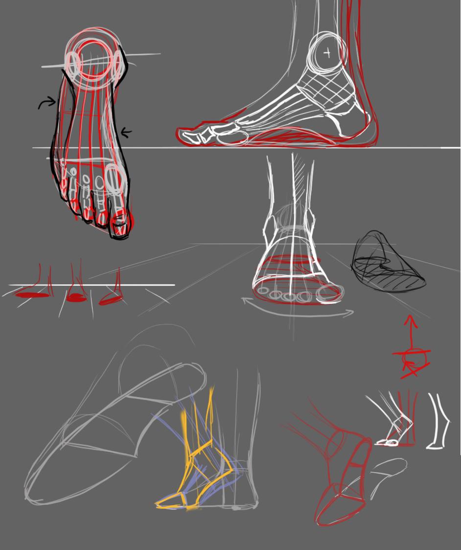 Frame lezione su mani e piedi