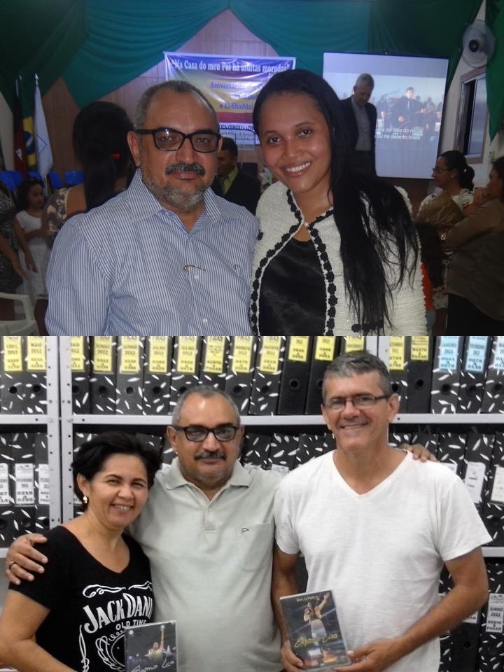IRMÃ ELIZAMA LIRA E O CASAL AMADO ROSINEIDE E EDGARZINHO