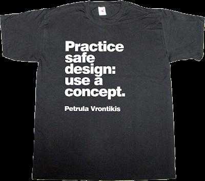 graphic design designer design brilliant sentence t-shirt ephemeral-t-shirts