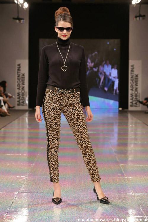 Adriana Costantini otoño invierno 2014 pantalones de vestir de moda invierno 2014.