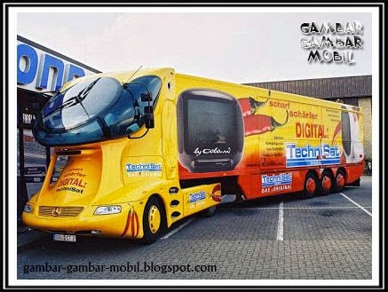 gambar mobil truk gaul