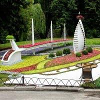 """""""Город будущего"""": новая выставка цветов на Певческом поле"""