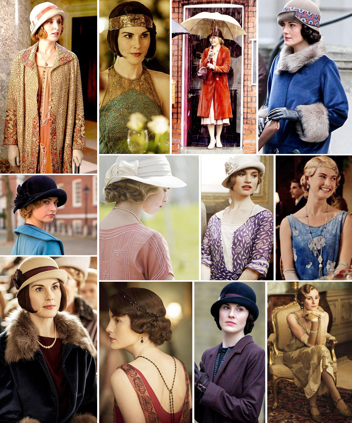 Downton Abbey Fashion | Katie Kirk Loves