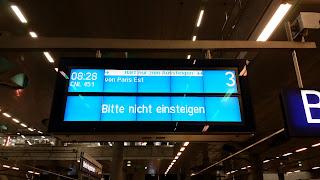 Bahnverkehr: Adieu deutsch-französische Freundschaft? – Geplante Einstellung der Nachtzugverbindung Berlin-Paris zum Dezember 2014, aus Senat