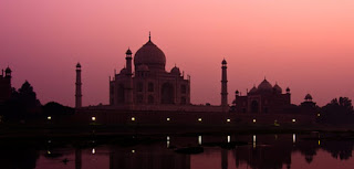 TAJ MAHAL AT NIGHT view,download free images of tajmahal