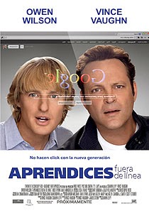 los becarios The Internship, aprendices fuera de linea