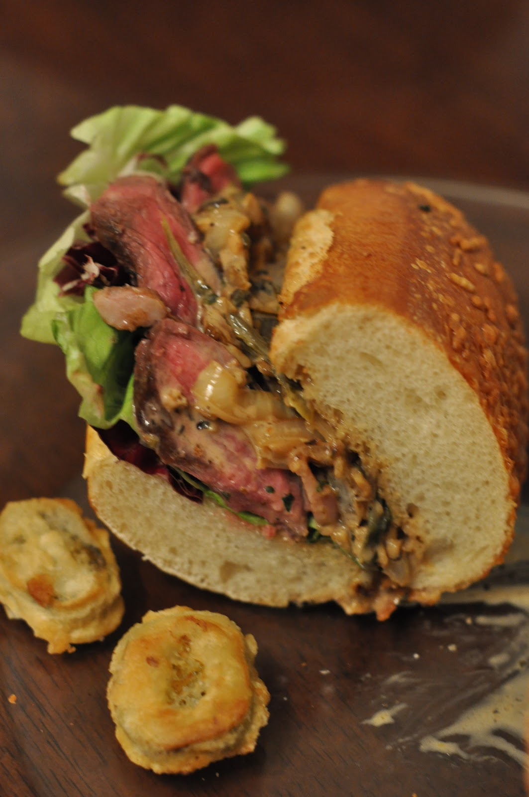 Cooking and Entertaining with Leah: Steak Sandwich with ...