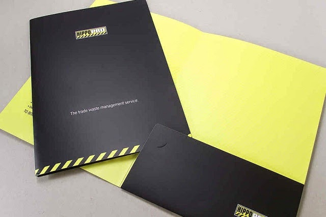 The Benefits of Printing Presentation Folders