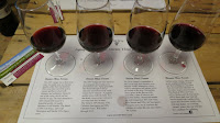 Vertical tasting of Strewn Three Terroir