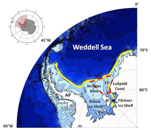 Waking The Giant Global Warming In The Weddell Sea West