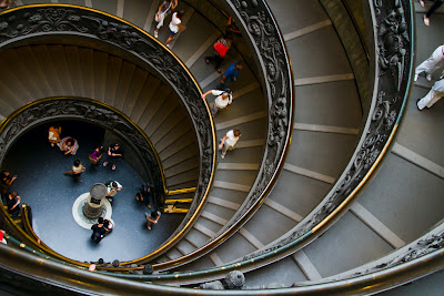 The Stairs - Vatican Museum