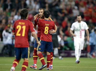 Spain - Portugal Euro 2012 semi-final