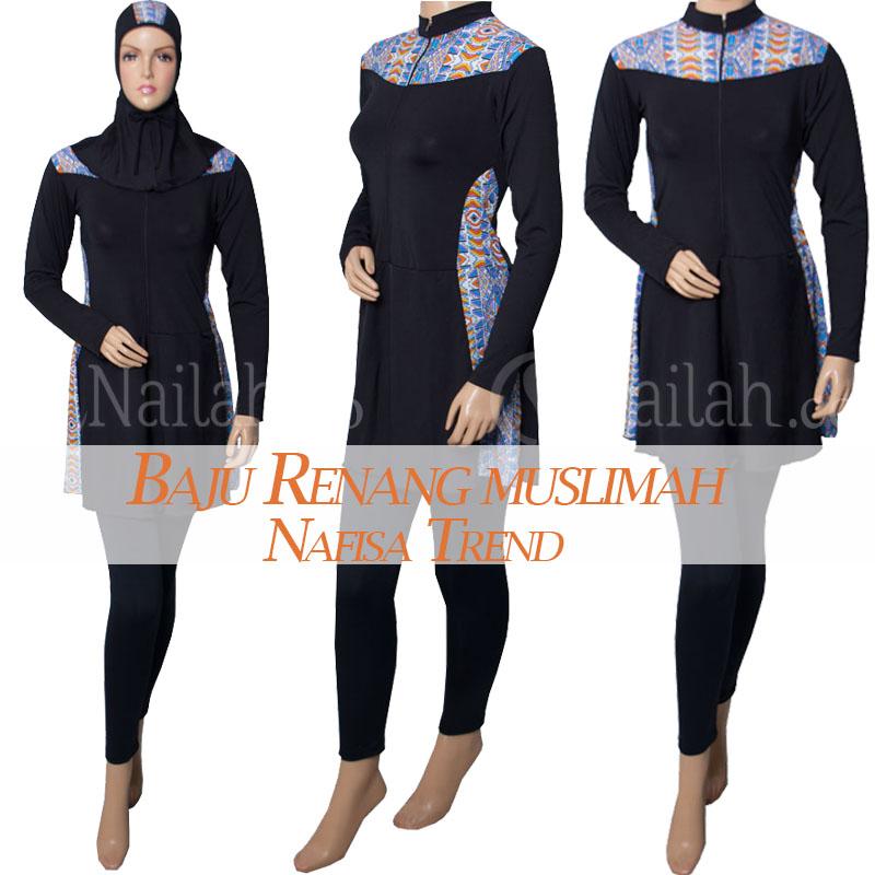 Model Baju Renang Muslim Terbaru Baju Muslim Untuk Renang