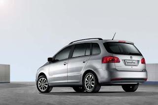 Fotos do Novo SpaceFox 2014 da Volkswagen lateral