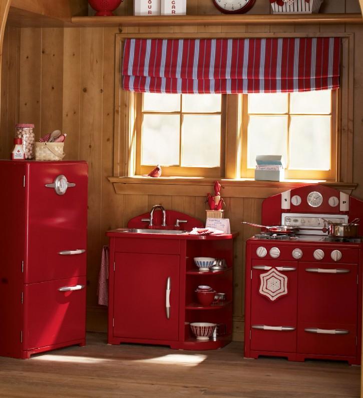 retro kitchen set toddlers red retro vintage kitchen stove oven