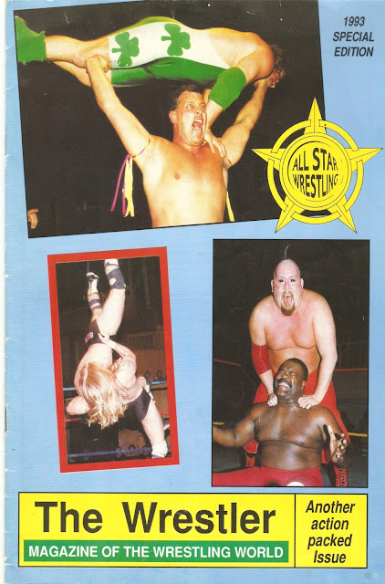 British Wrestling Magazine Dafe Taylor, Dave Finlay, Mongolian Mauler