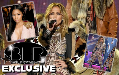 "Rapper Nicki Minaj Shades Jennifer Lopez After Her Performance Of ""Anaconda"""