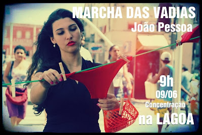 Marcha das Vadias- João Pessoa
