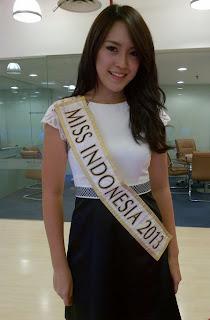 vania larissa miss word indonesia 2013
