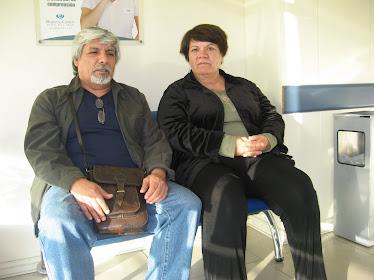 En el hospital con mi hermana