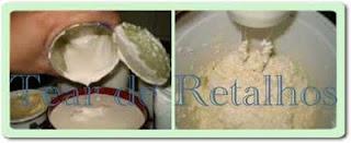 Acrescentar o creme de leite à mistura fria e bater com a batedeira