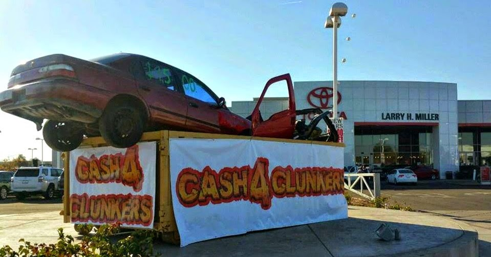 Larry H. Miller Toyota Peoria: Cash for Clunkers | Larry H ...