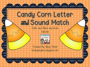 http://www.teacherspayteachers.com/Product/Candy-Corn-Letter-and-Sound-Match-1461218